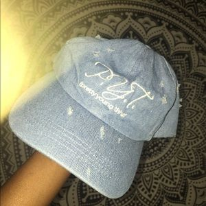 """custom pretty young thing """"dad"""" hat"""